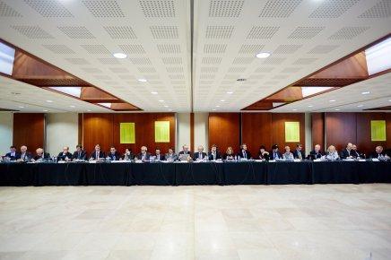 Les notariats européens en visite à la Maison desnotaires