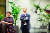 Erik Van Tricht et Lorette Rousseau