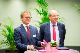 Erik Van Tricht et ministre Koen Geens