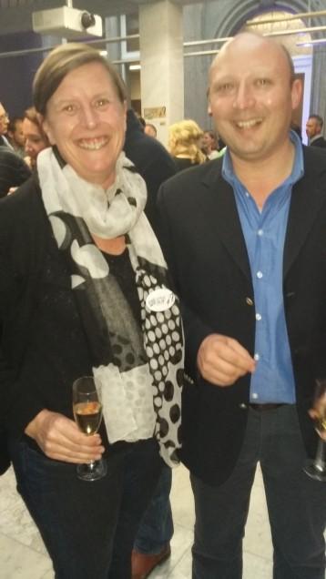 Anne Wuilquot et Xavier, collaborateur notaire Franeau