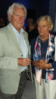 Notaire honoraire Claude Mourue et épouse