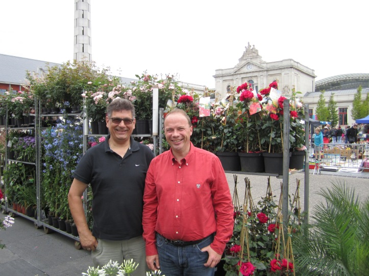 Organisateurs Vincent Vranck et Christiaan Lenaerts