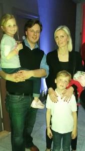 Stéphanie et Fabrice et enfants