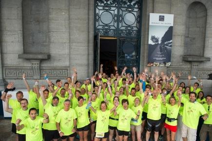 20 km de Bruxelles : l'équipe du notariat à nouveau dans les starting-blocks!